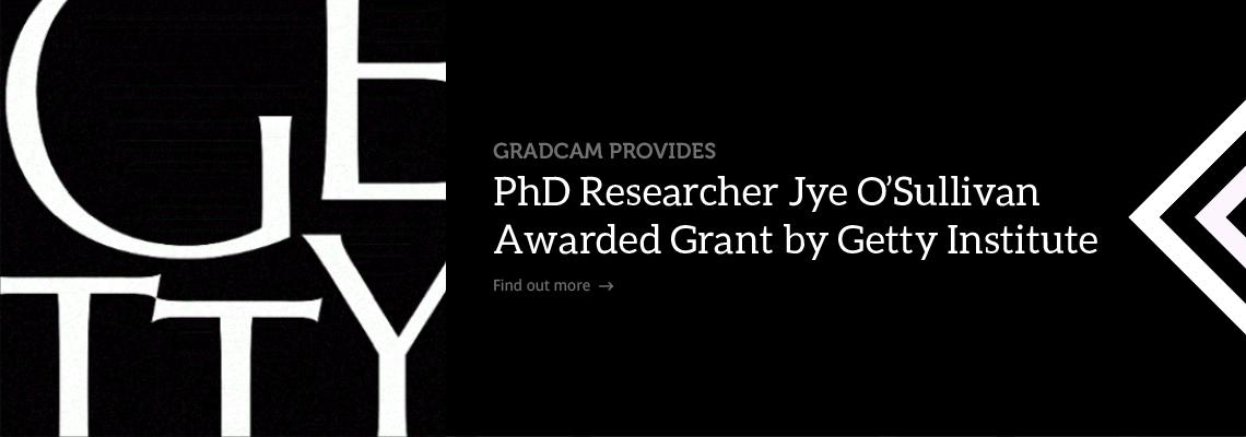 Jye O'Sullivan Getty Institute